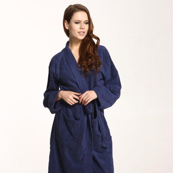 7804 12u13u14u15u15 365 Bademantel Kimono Marine